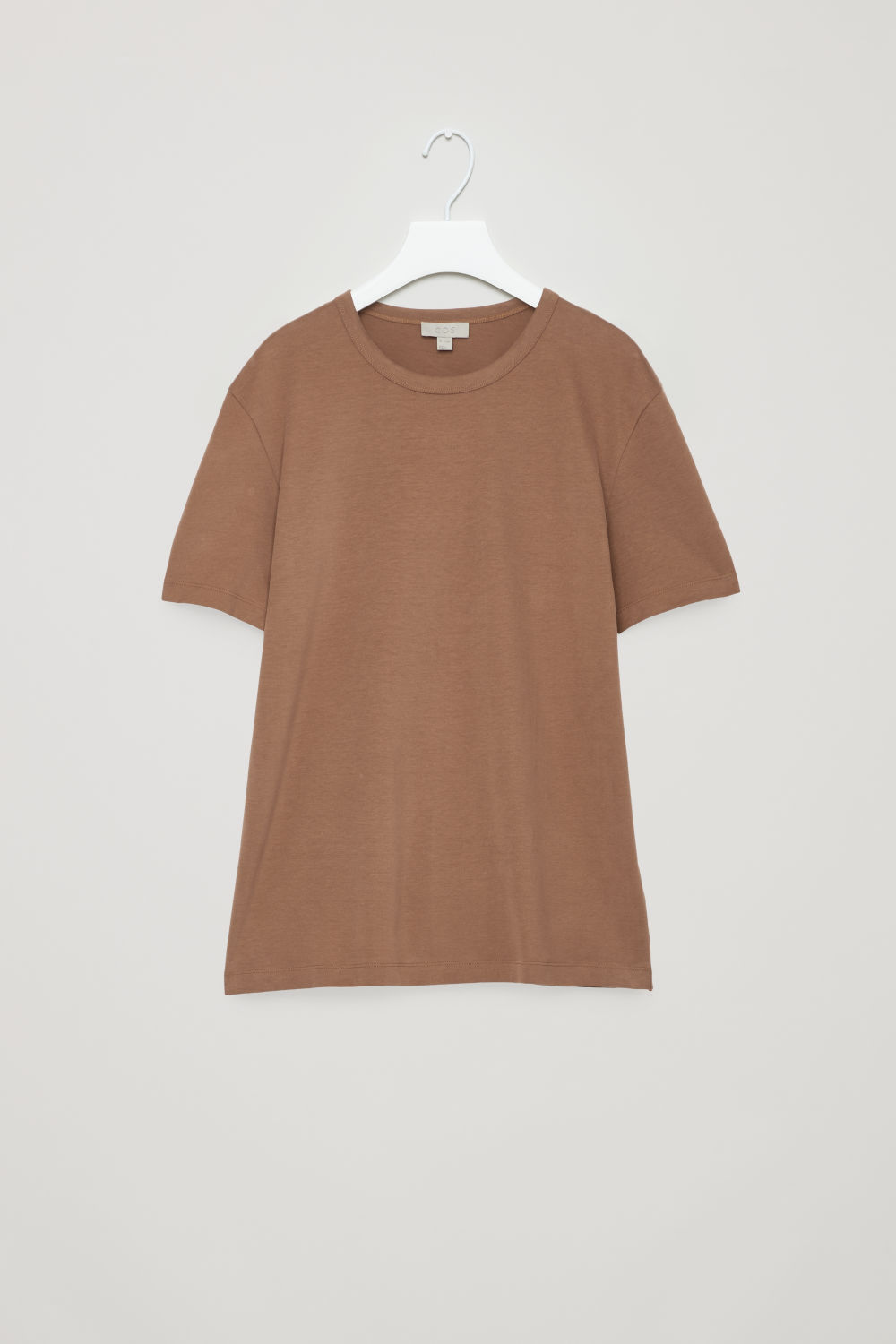 BRUSHED COTTON T-SHIRT