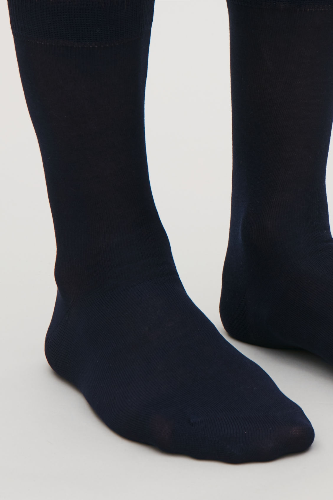 Side image of Cos three pairs of socks in blue