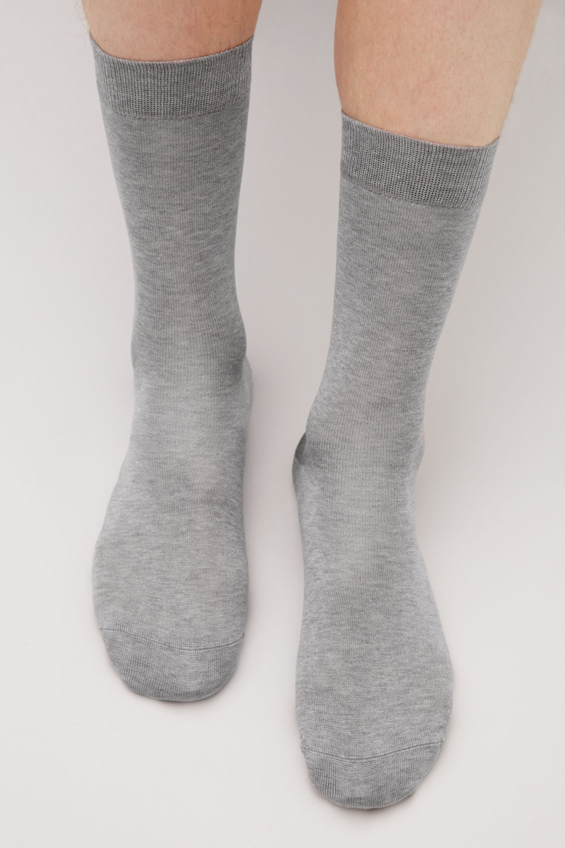 Side image of Cos three pairs of socks in grey