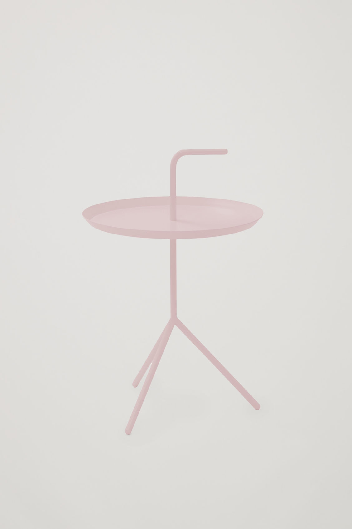 Front image of Cos hay dlm side table in orange
