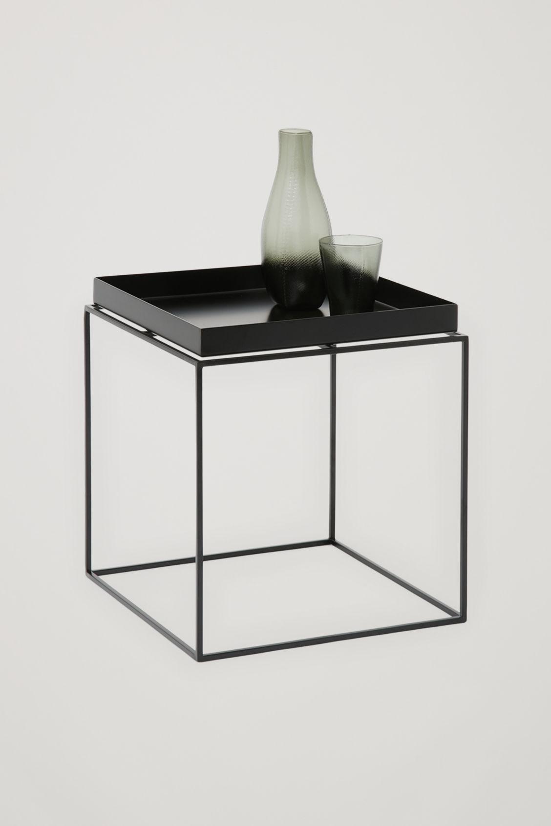 Hay Tray Side Table Black Cos X Hay Cos