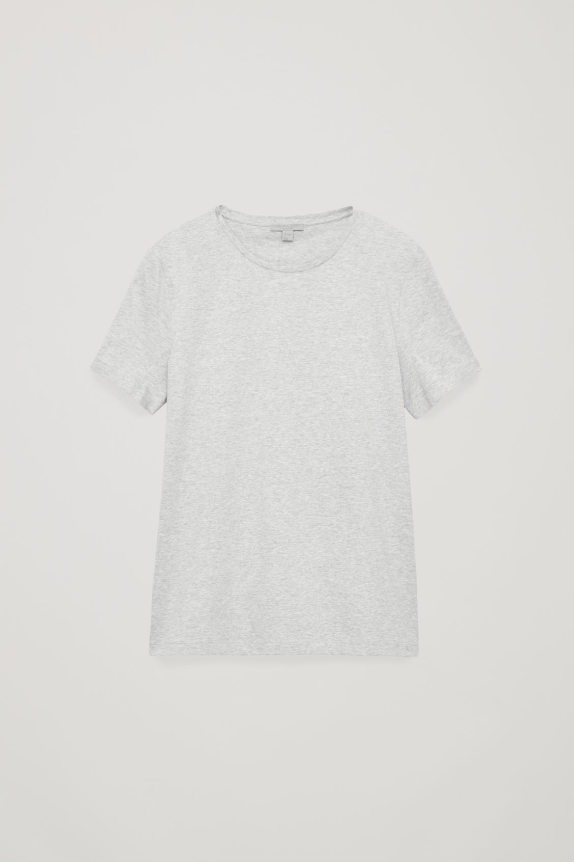 Front image of Cos classic t-shirt in grey