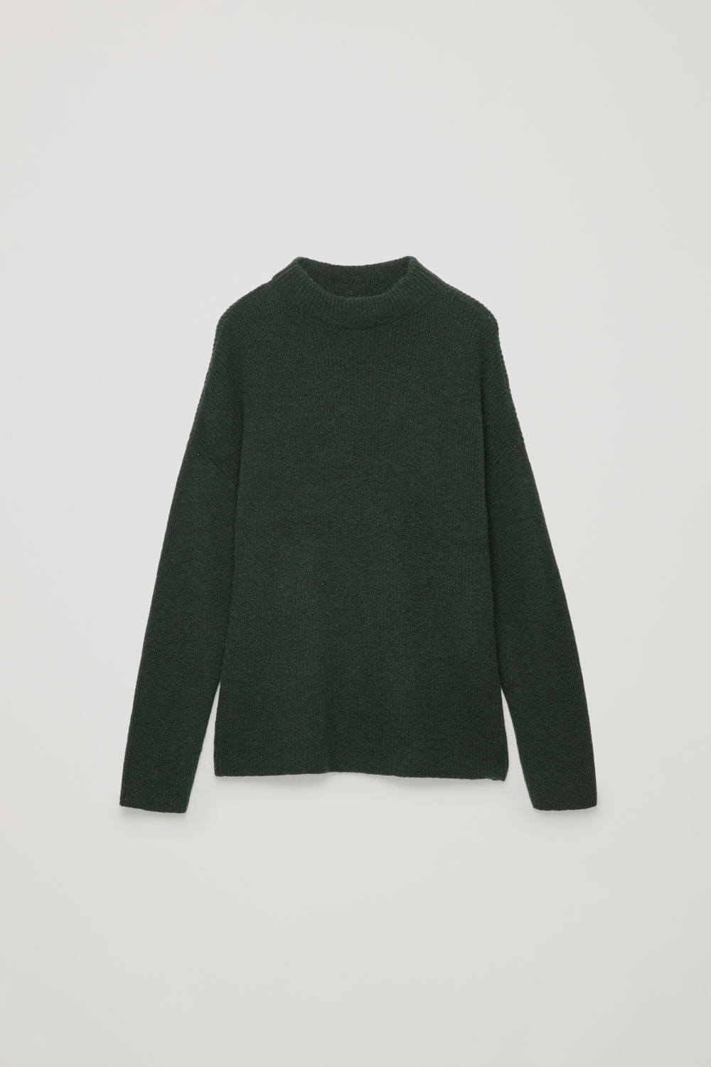 OVERSIZED RIB-KNIT JUMPER