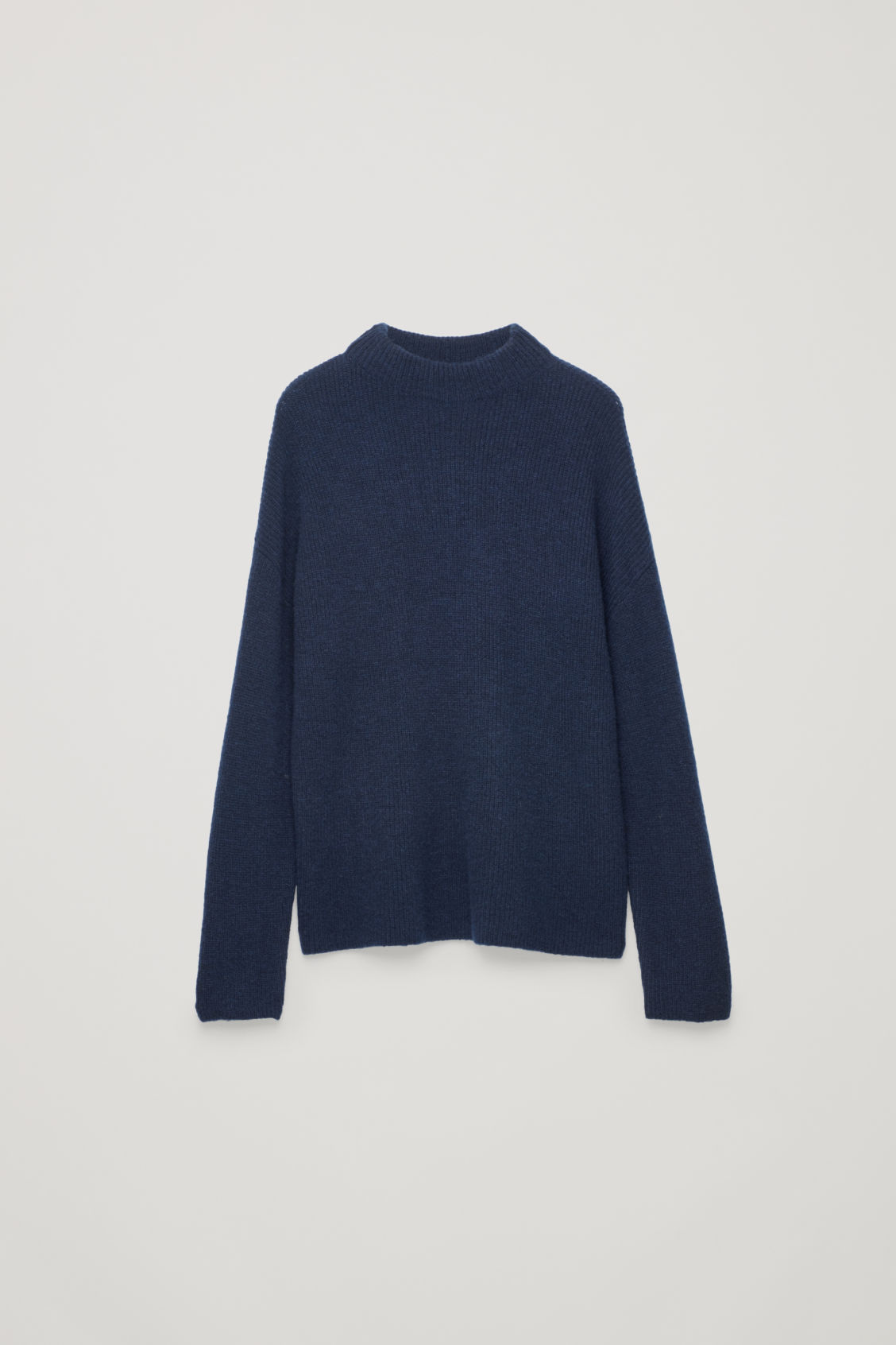Front image of Cos oversized knit jumper in blue