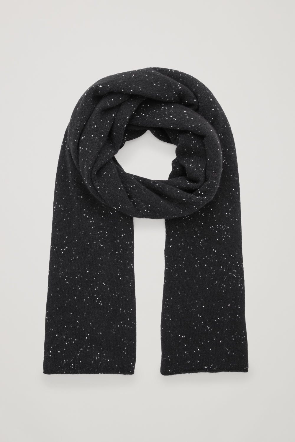 SPECKLED CASHMERE SCARF
