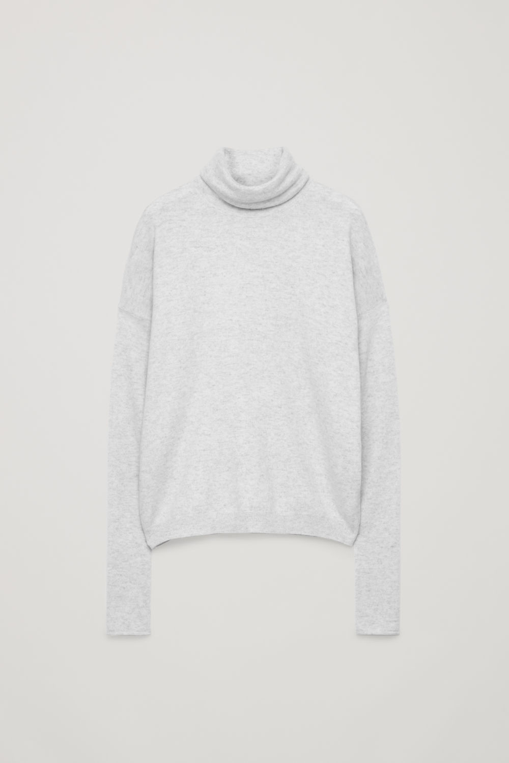 ROLL-NECK CASHMERE JUMPER