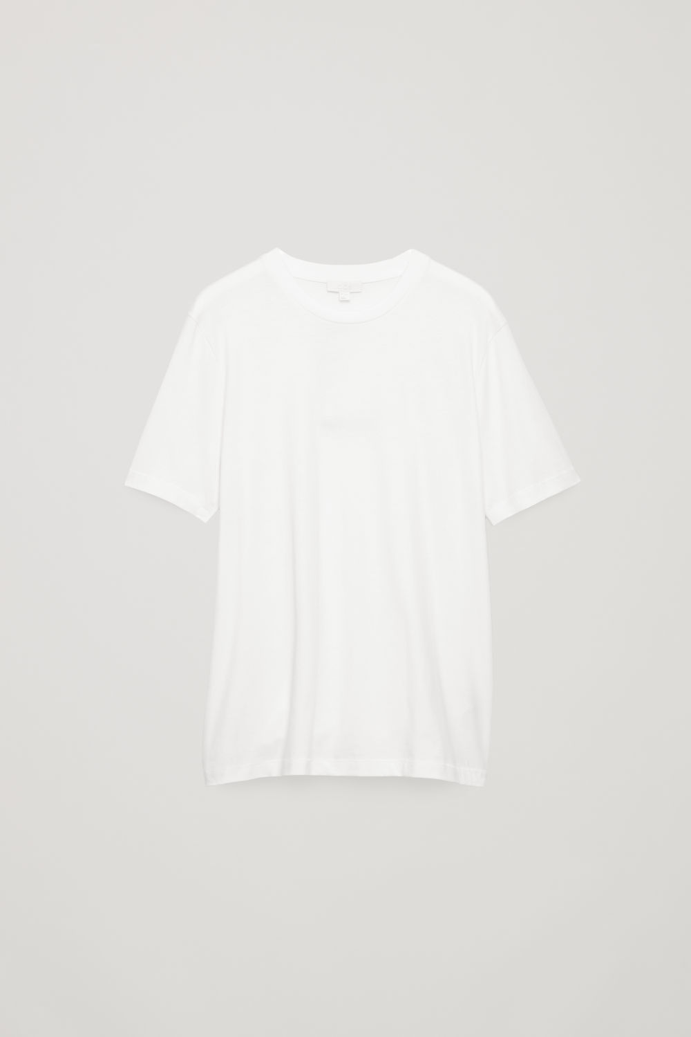 T-SHIRT WITH RIB NECK