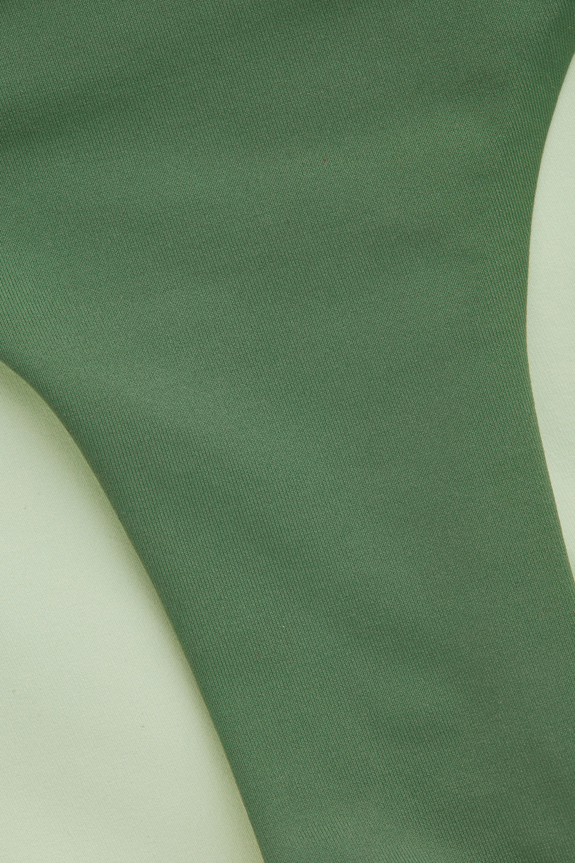 Side image of Cos knotted bikini bottoms in green