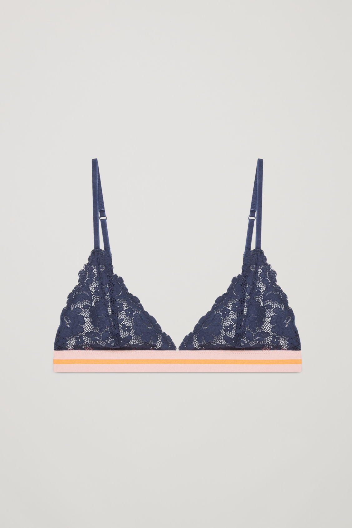 Cos LACE BRA WITH ELASTIC BAND