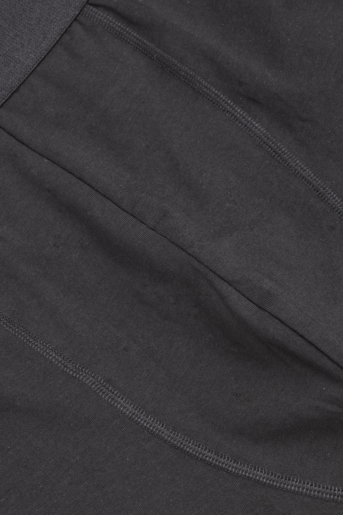 Side image of Cos jersey boxer briefs in black