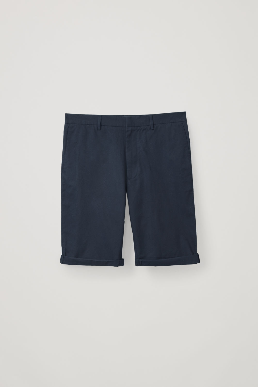 COTTON-TWILL SHORTS