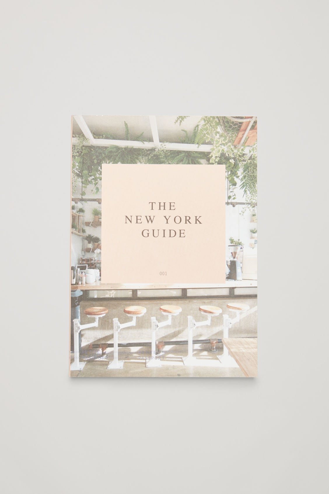 Front image of Cos petite passport: the new york guide in white