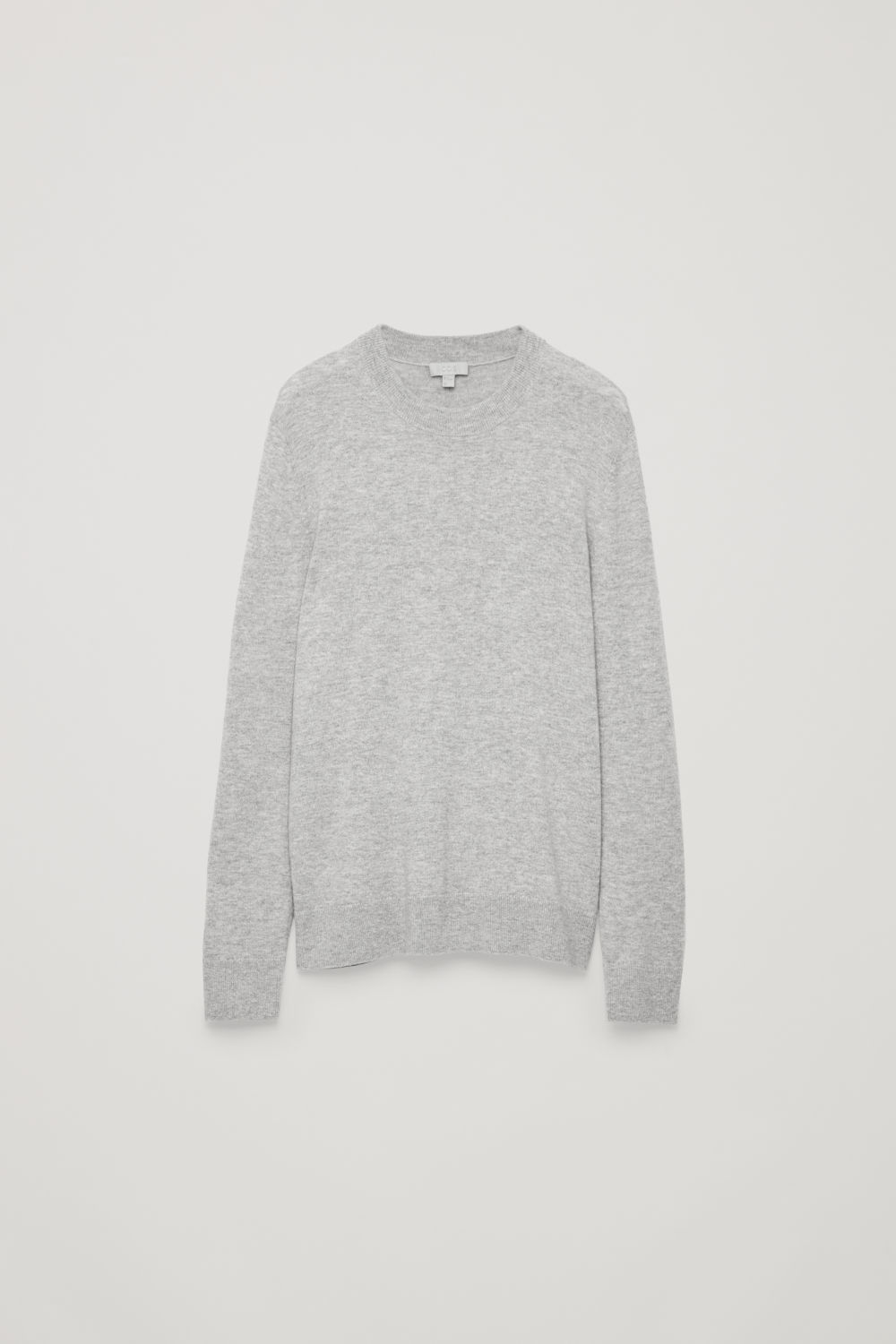 WOOL-YAK CREW-NECK JUMPER