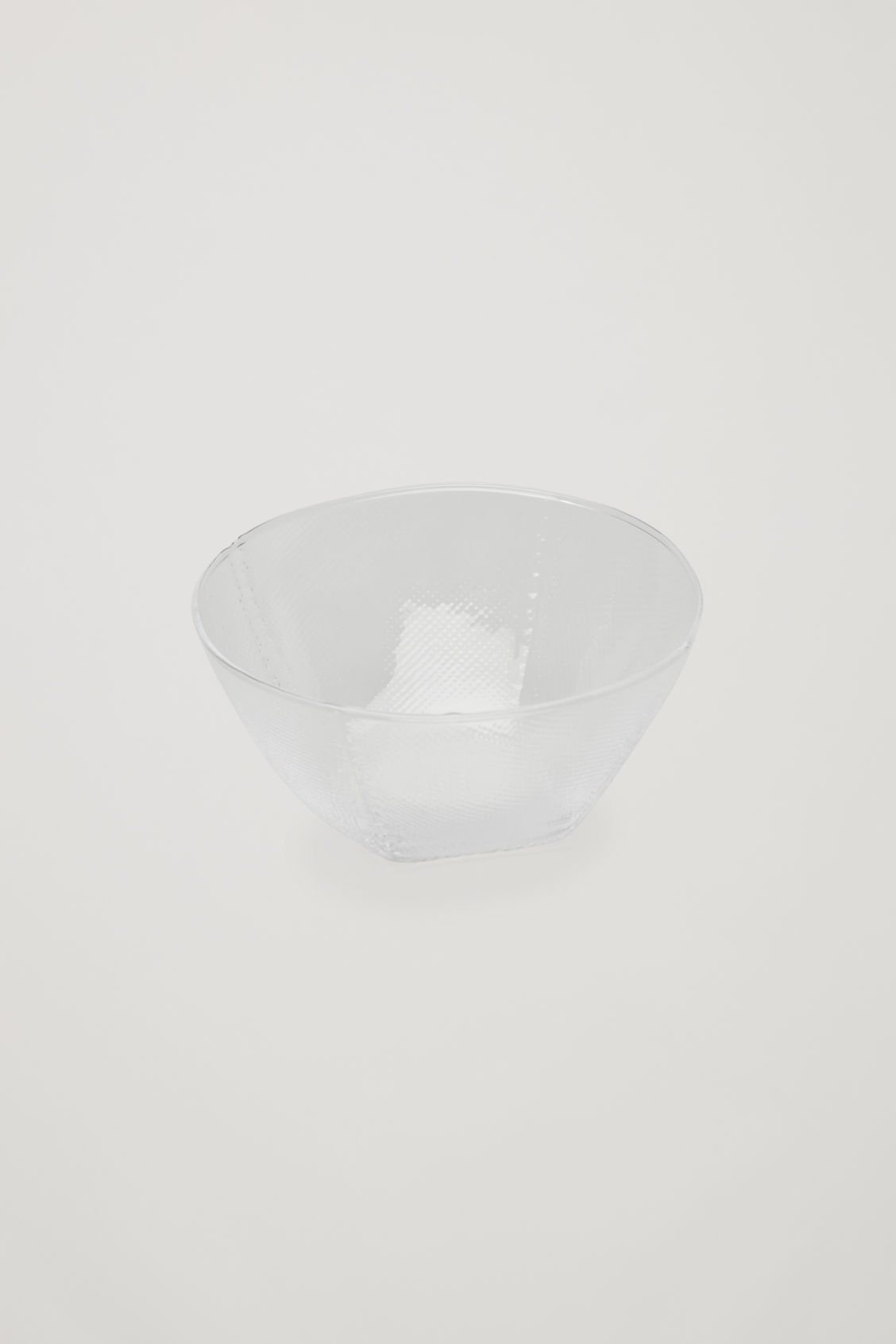 Front image of Cos hay tela bowl in white
