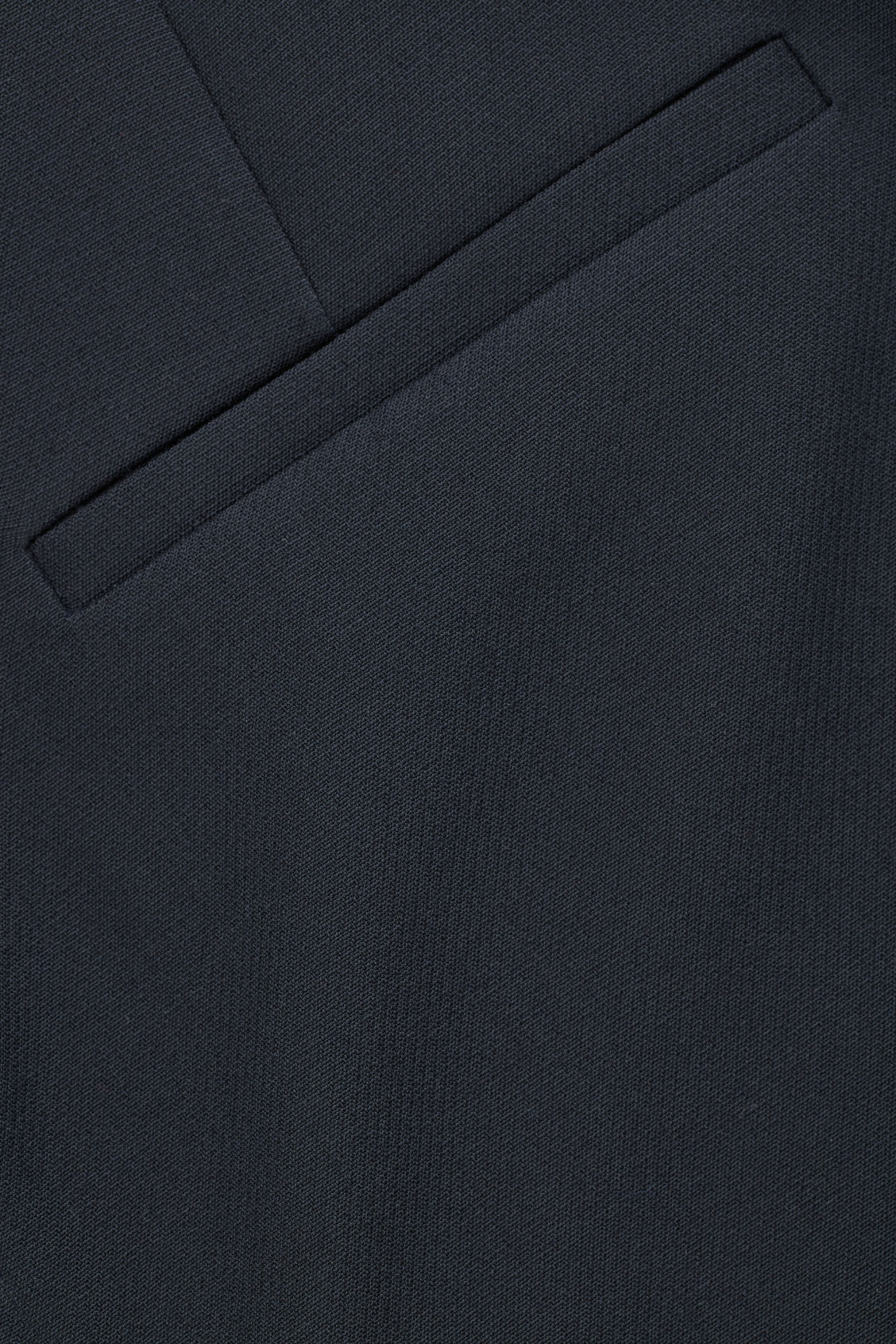 Side image of Cos twisted-seam trousers in blue