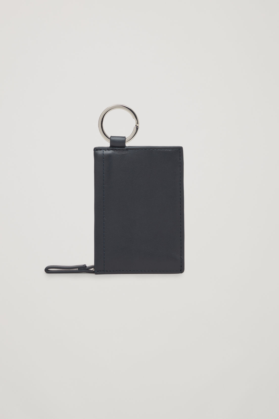 LEATHER WALLET WITH KEYRING