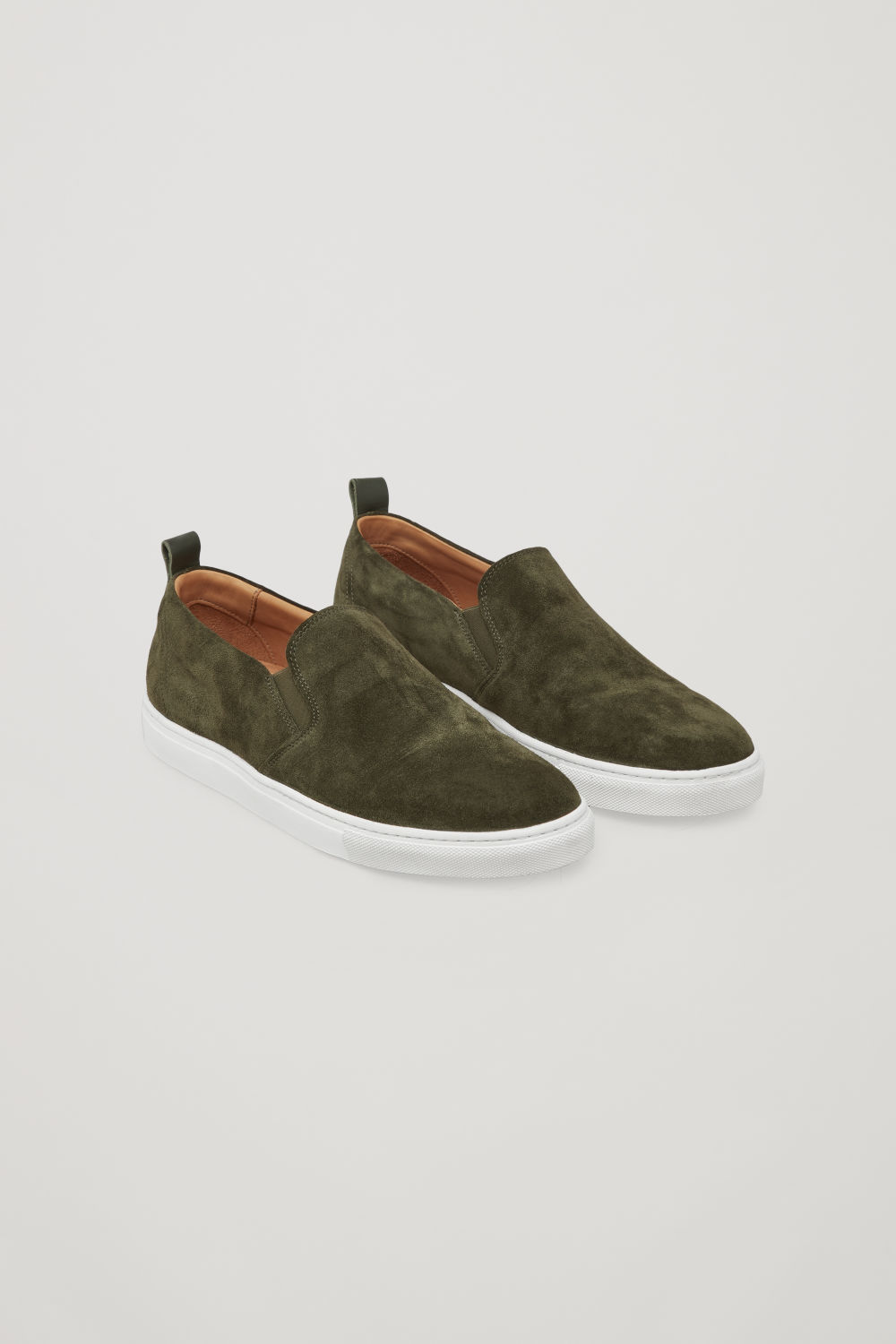 SUEDE SLIP-ON SNEAKERS