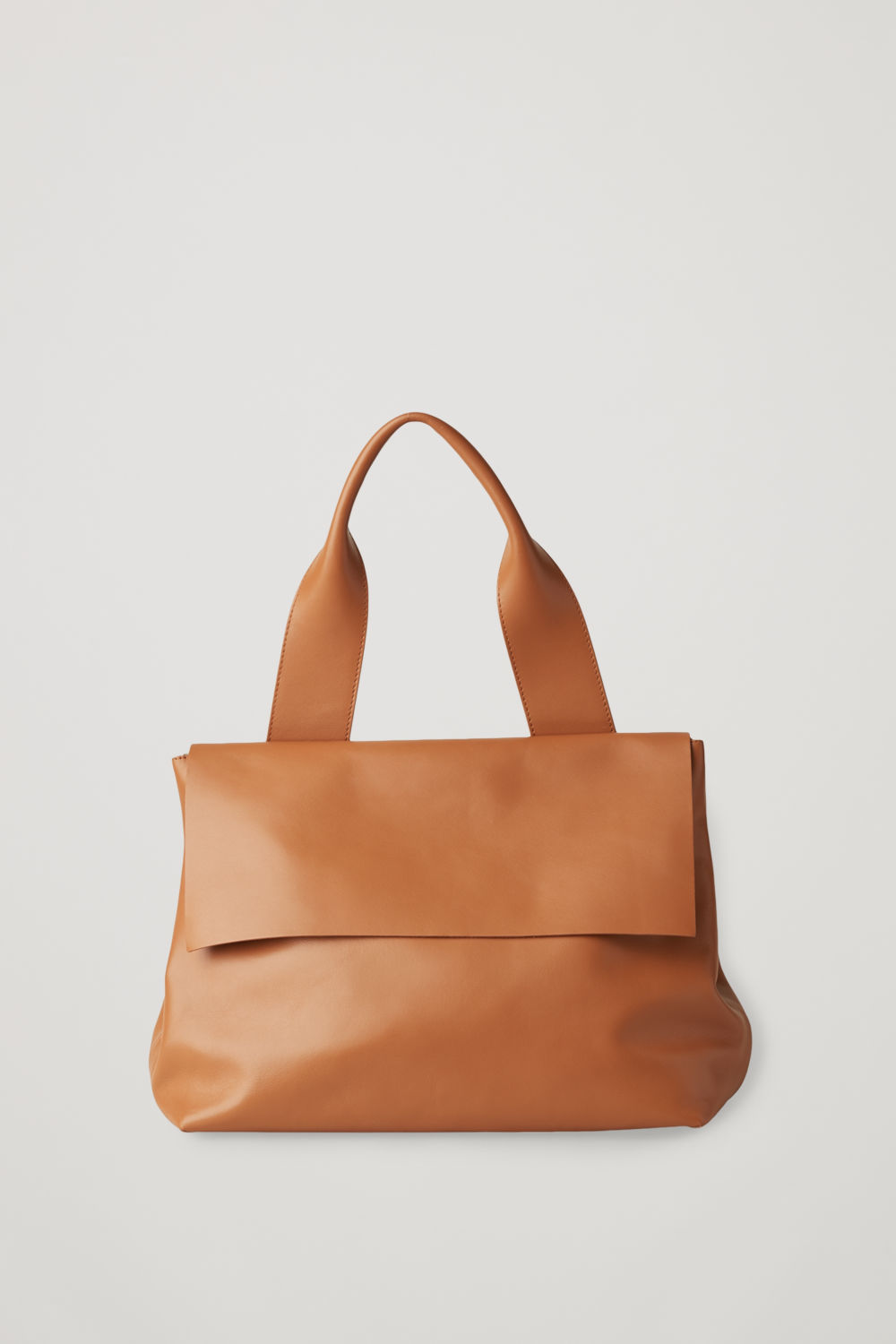 LEATHER TOTE BAG WITH STRAP ... e138f0a089f4d