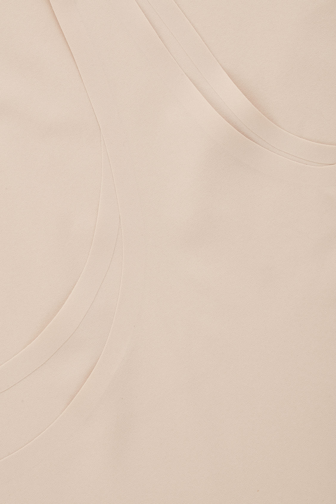 Side image of Cos seamless slip dress  in beige