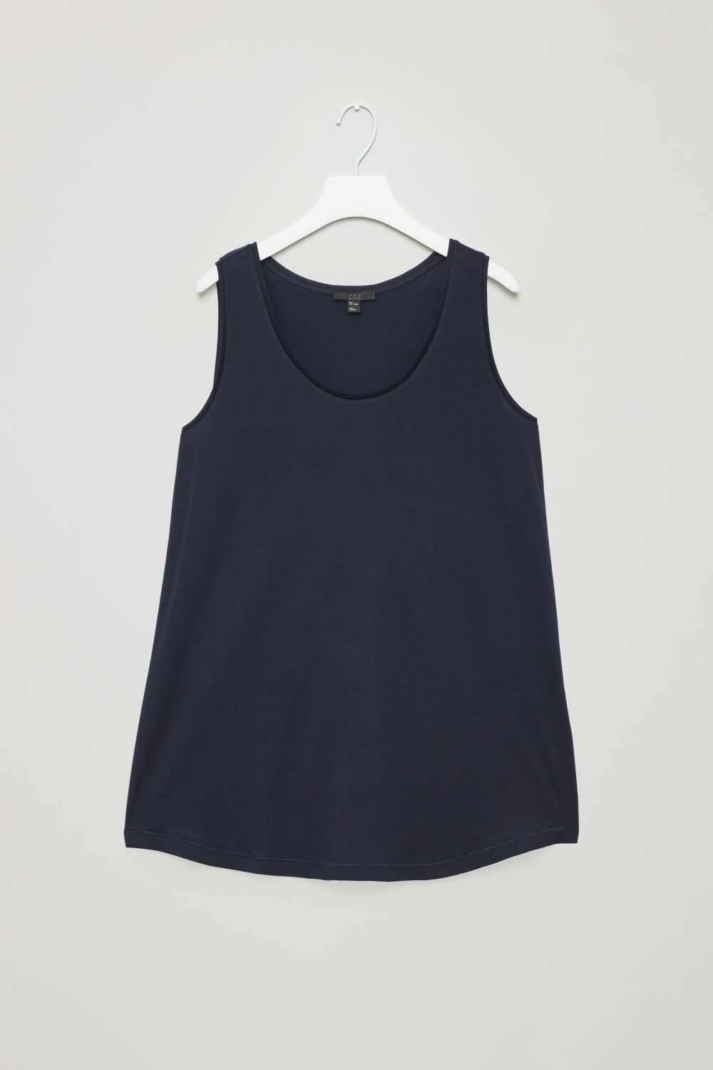 FLARED COTTON VEST
