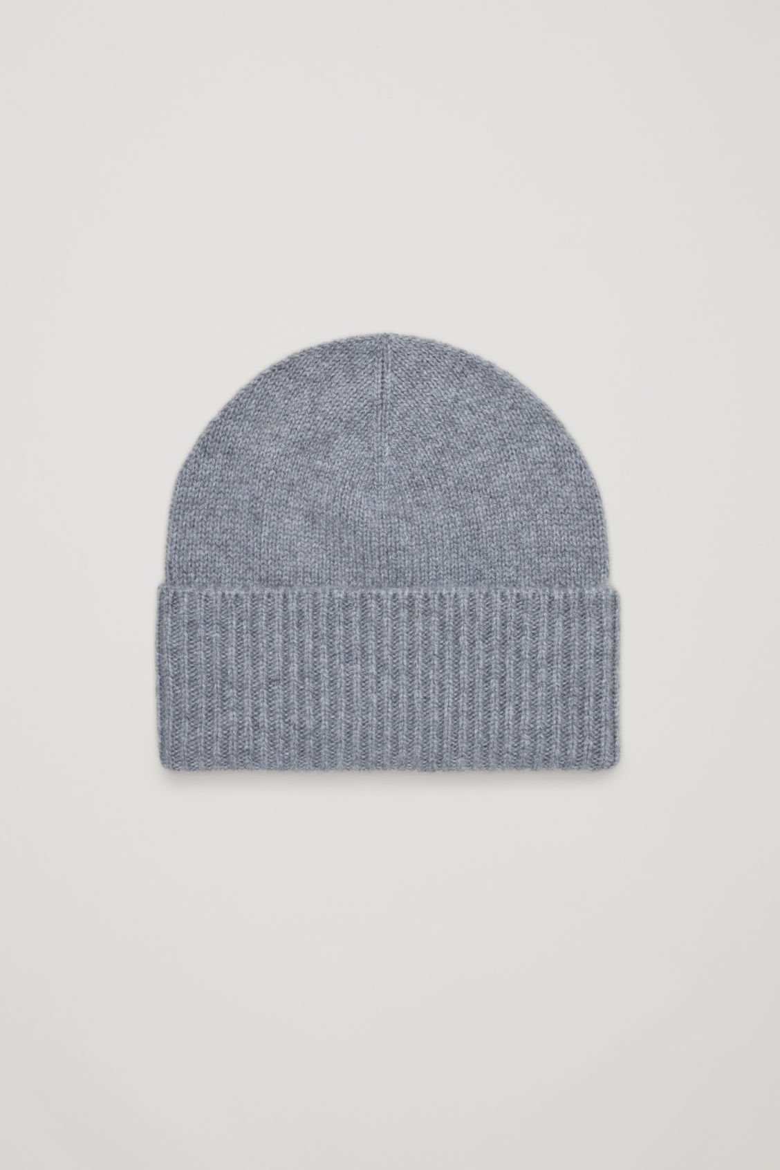 COS CASHMERE HAT WITH RIBBED EDGE 30d5043c172