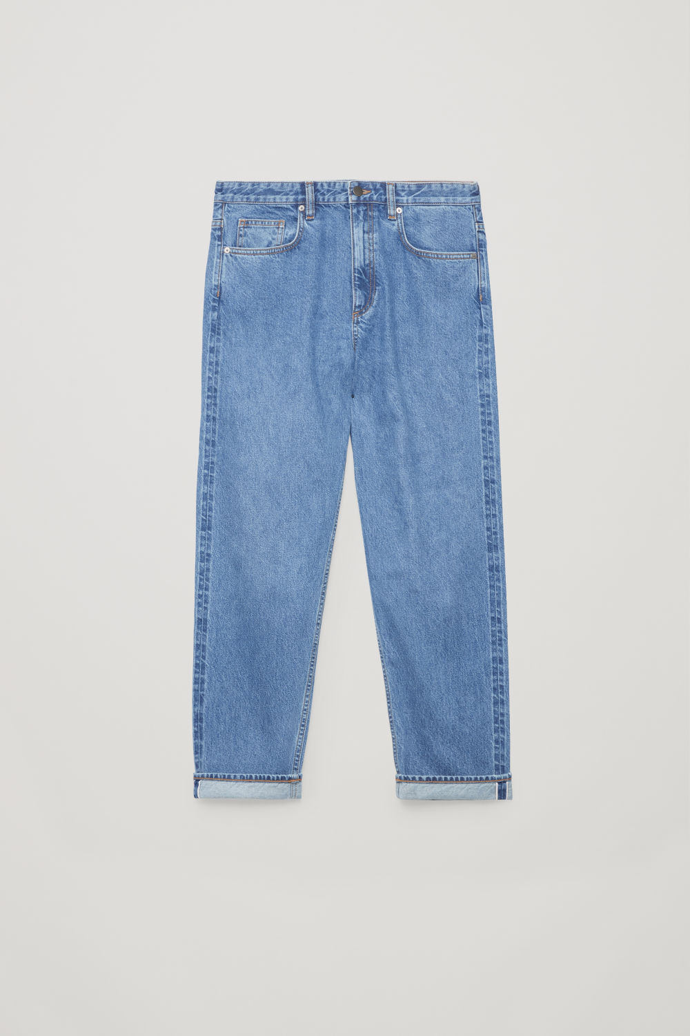 SELVEDGE STRAIGHT-LEG JEANS