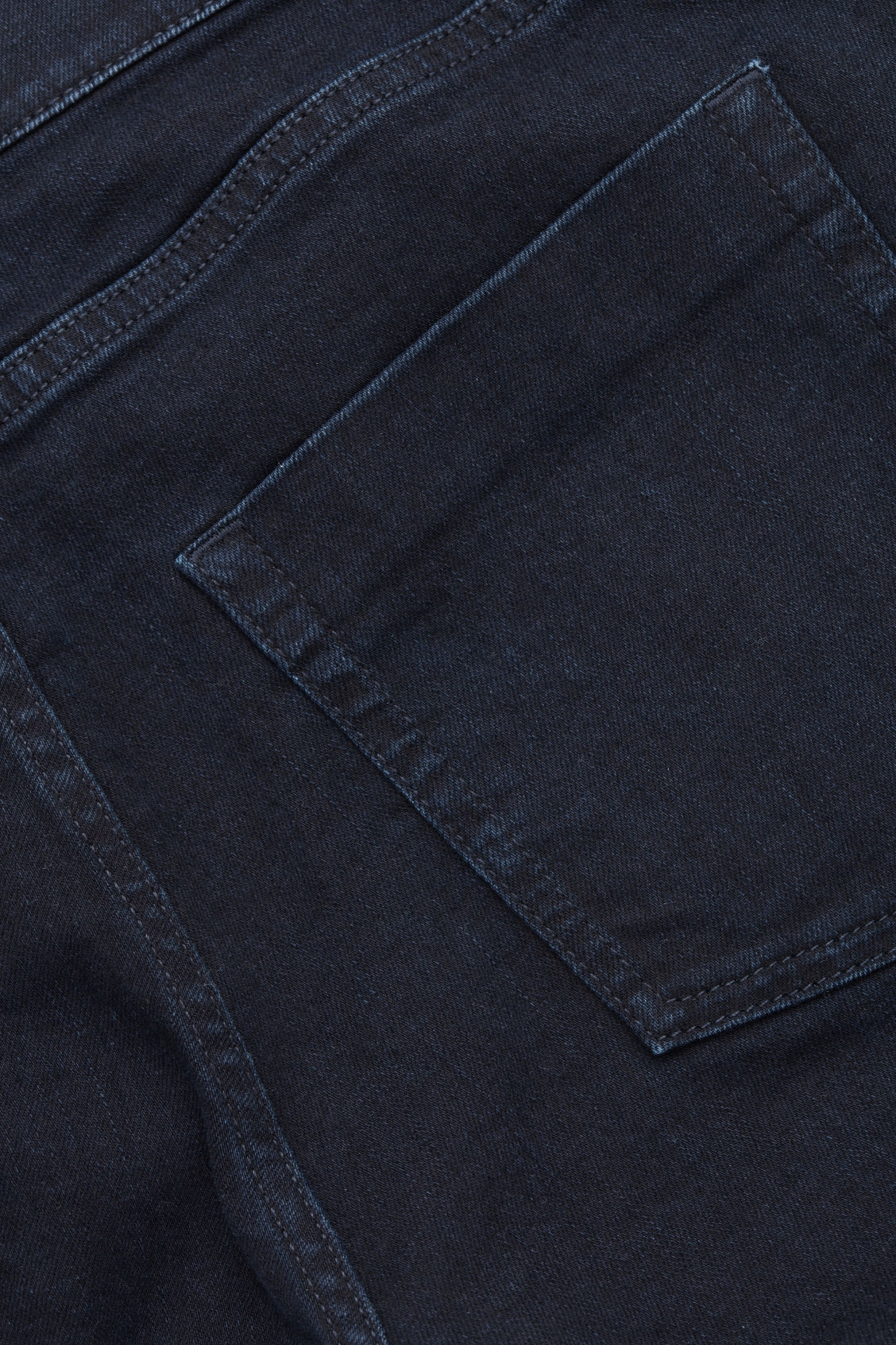 Side image of Cos slim tapered jeans in blue