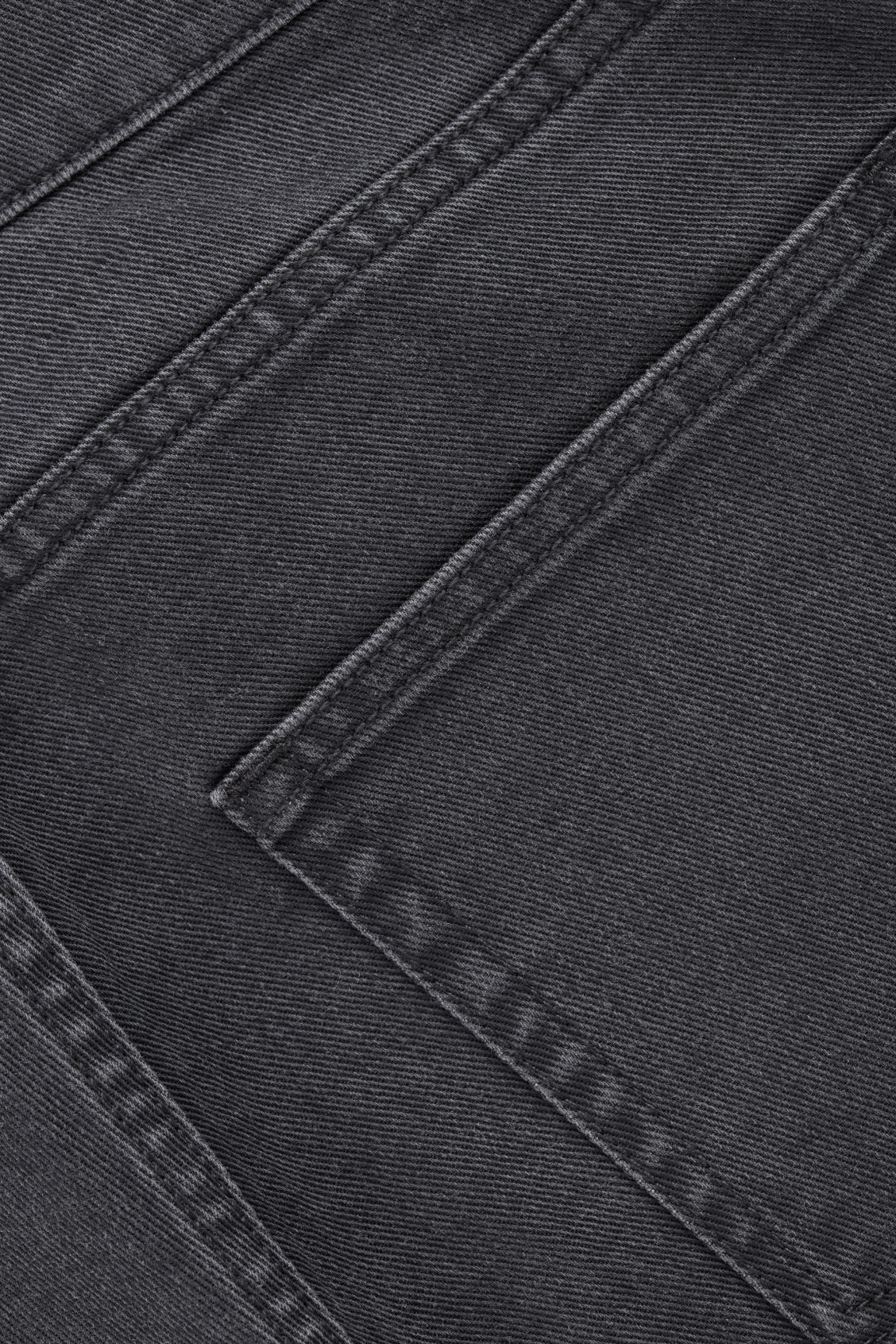 Side image of Cos slim tapered jeans in grey