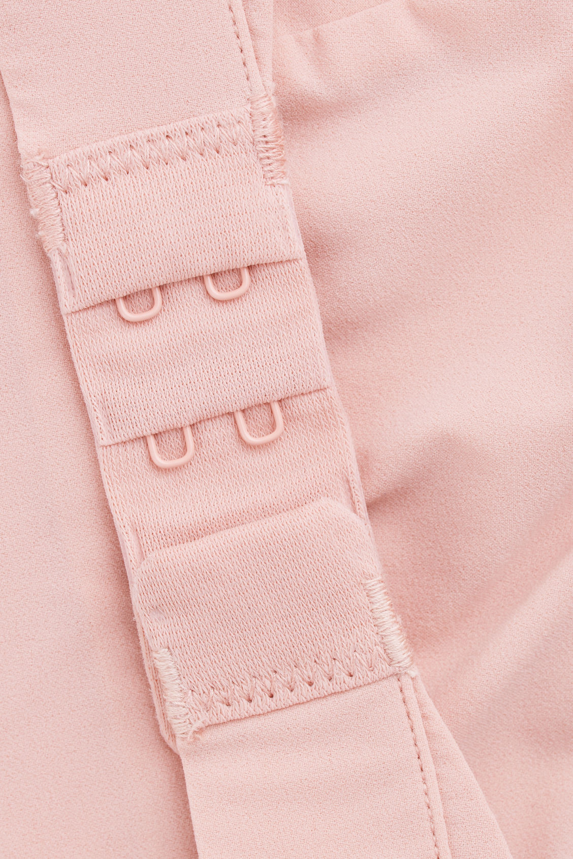 Side image of Cos soft-cup bra  in pink
