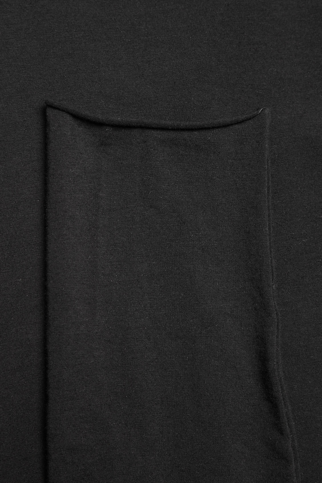 Side image of Cos elastic-waist leggings  in black