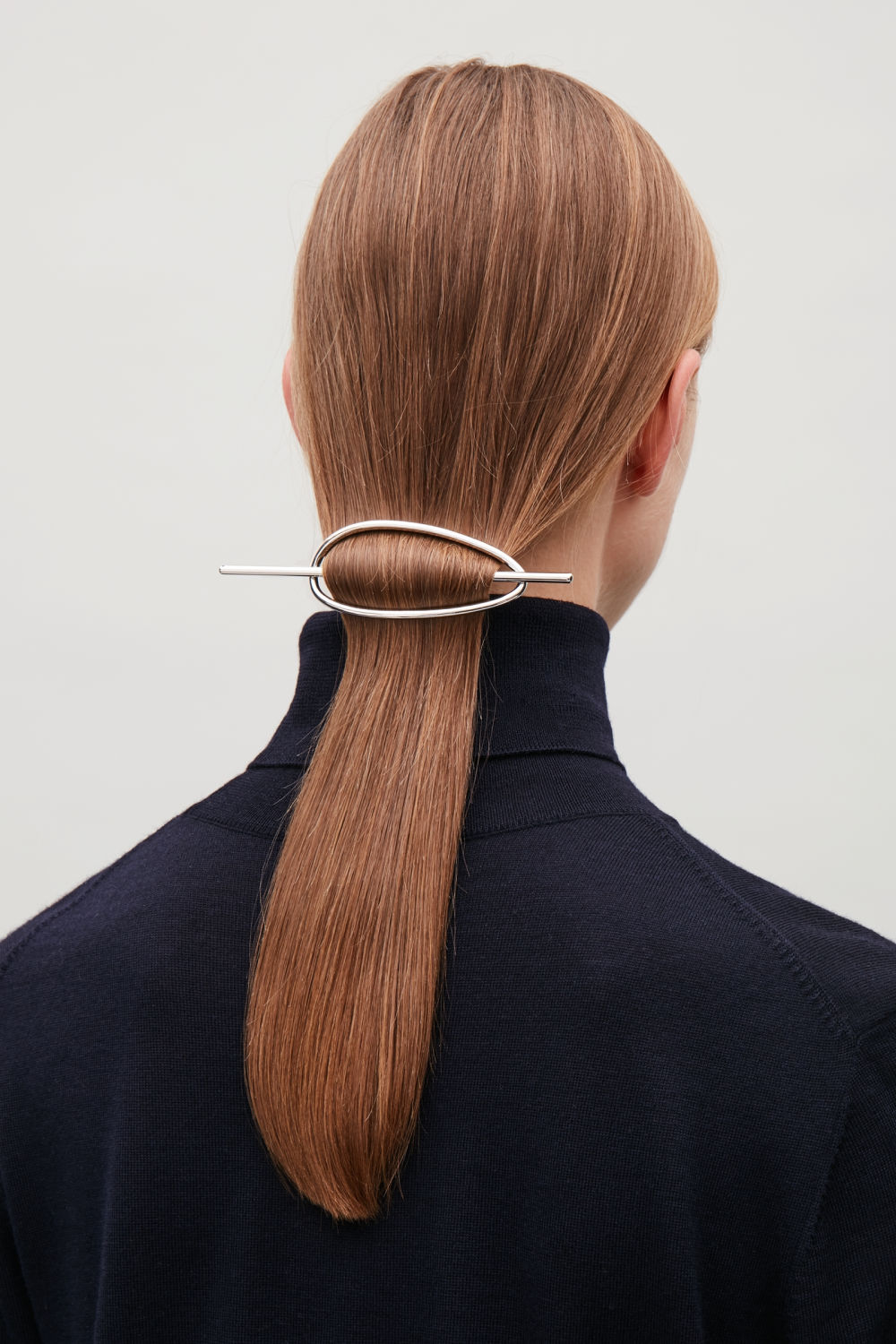 OVAL METAL HAIR STICK