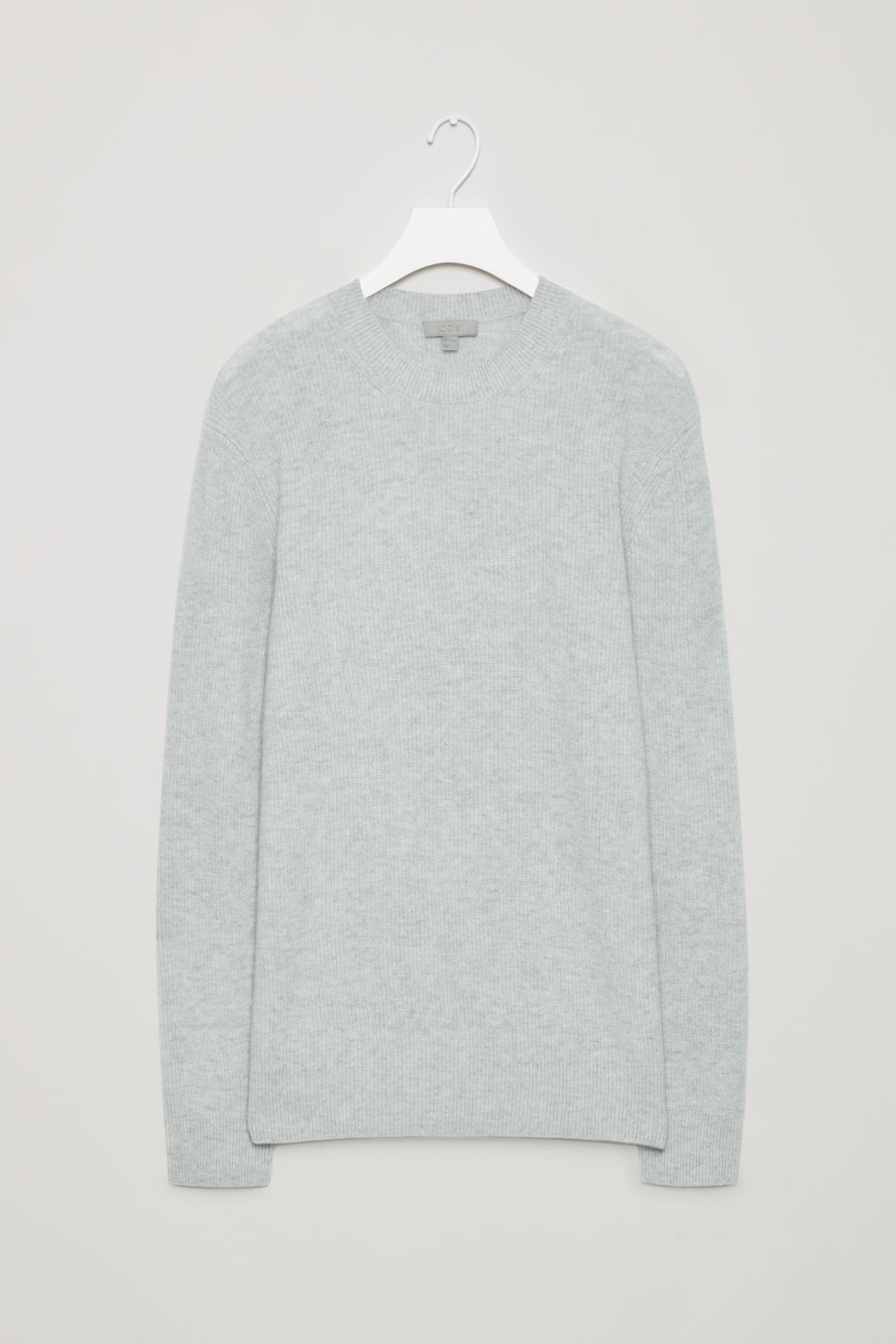CARDIGAN-STITCH CASHMERE JUMPER