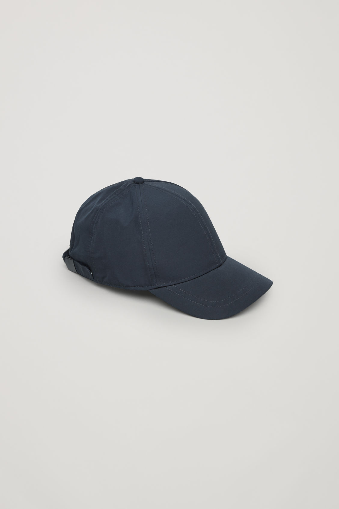 Front image of Cos baseball cap in blue
