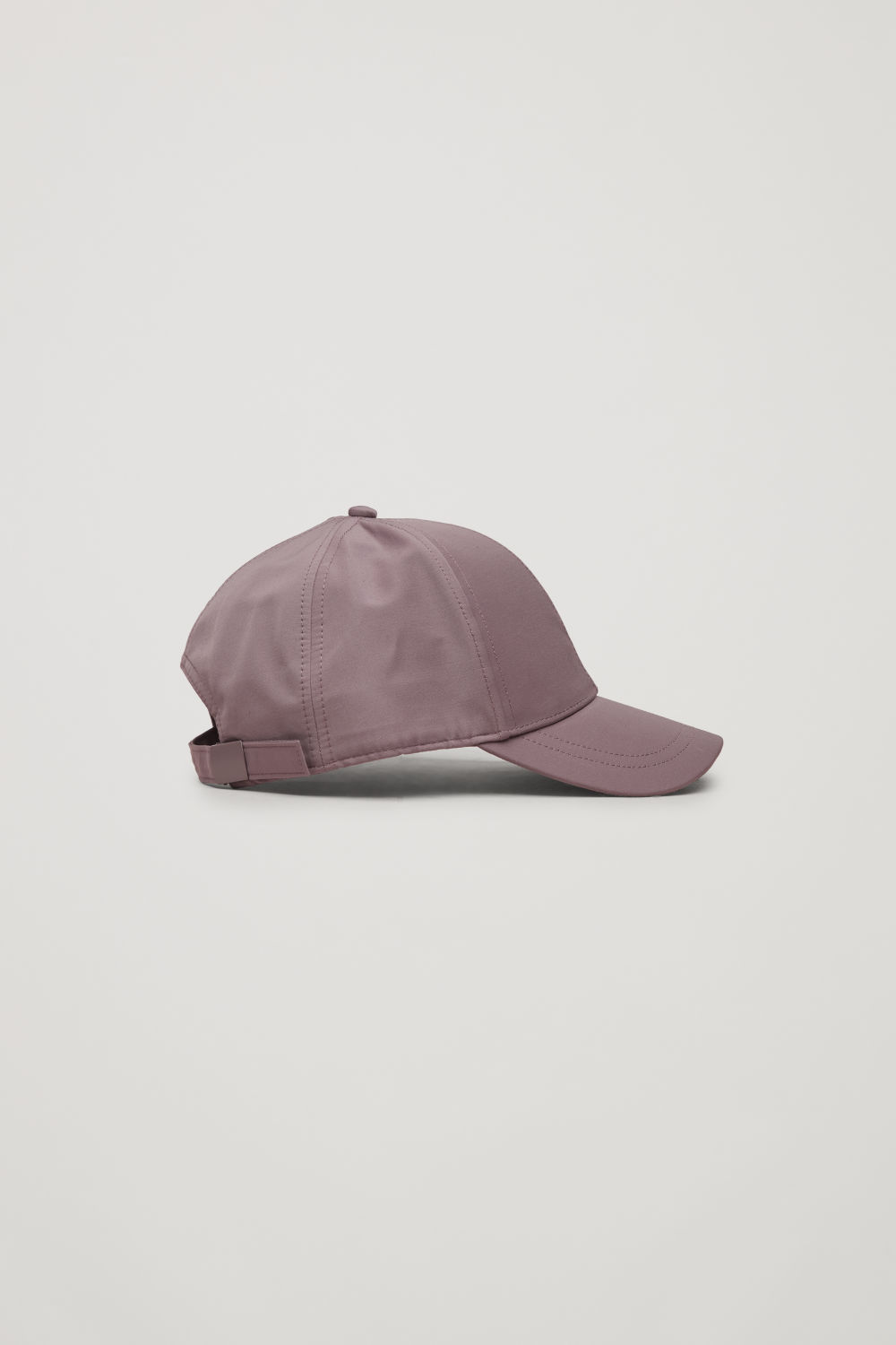 Front image of Cos baseball cap in purple