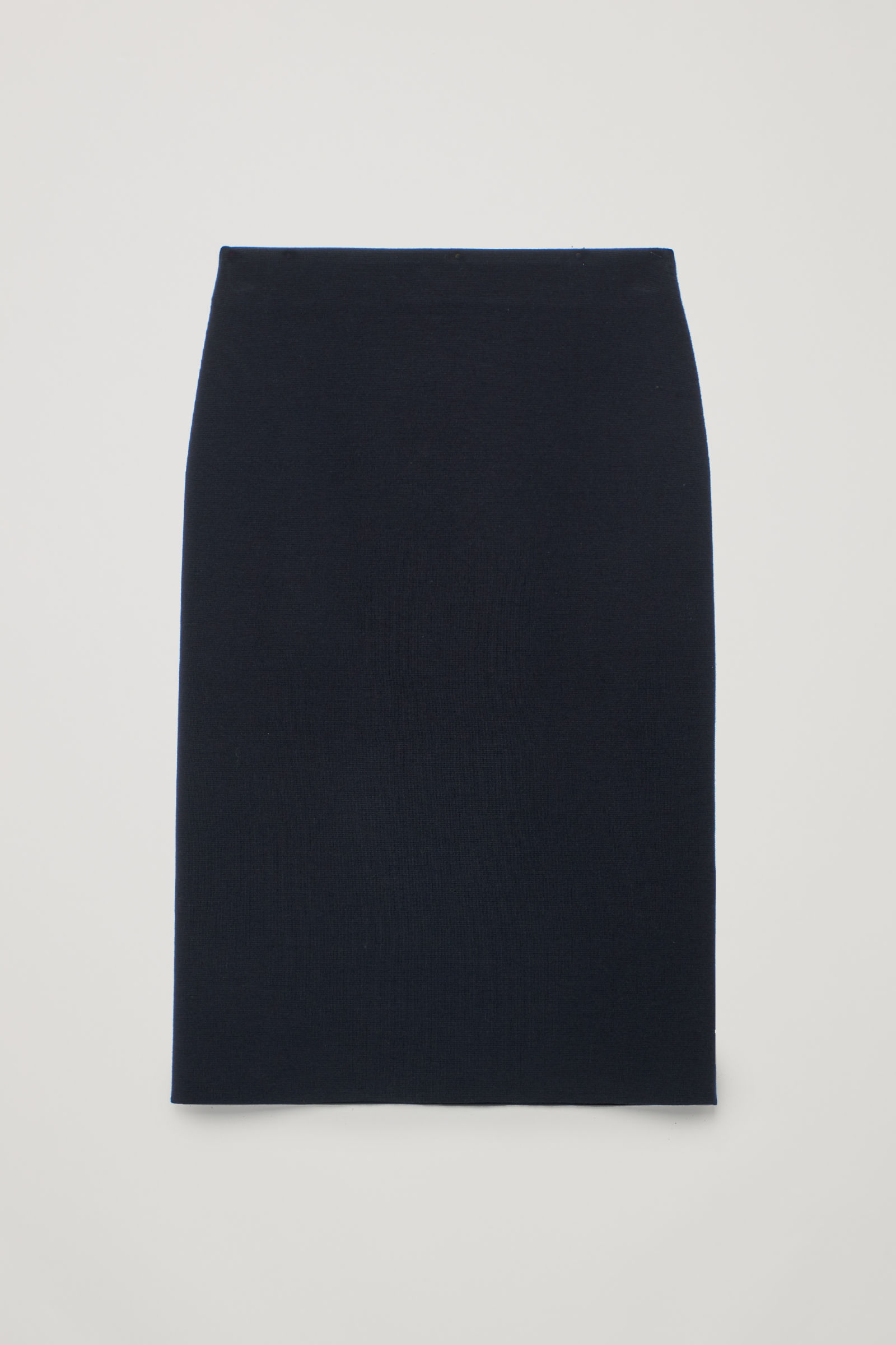 4a40cbe3b8 MERINO-WOOL PENCIL SKIRT - Midnight blue - Skirts - COS