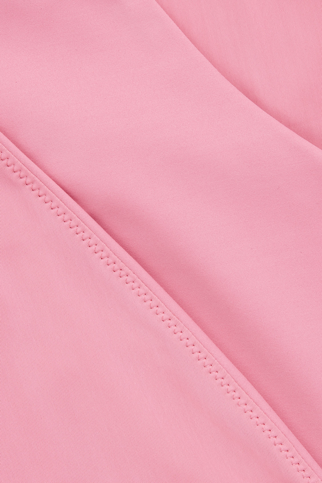 Side image of Cos v-neck swimsuit  in pink