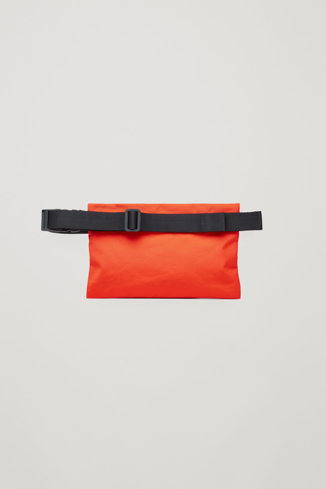 Side image of Cos cross-body bag  in orange