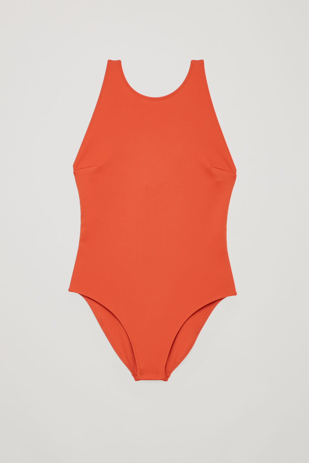 TWIST-BACK SWIMSUIT