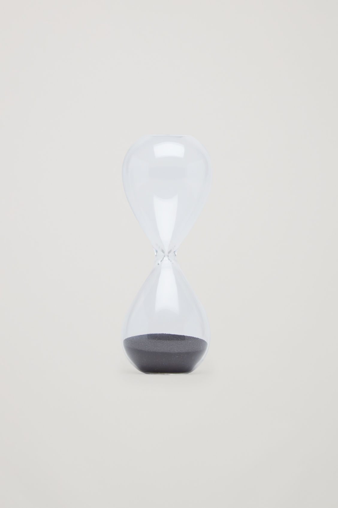 Front image of Cos hay small time glass  in black