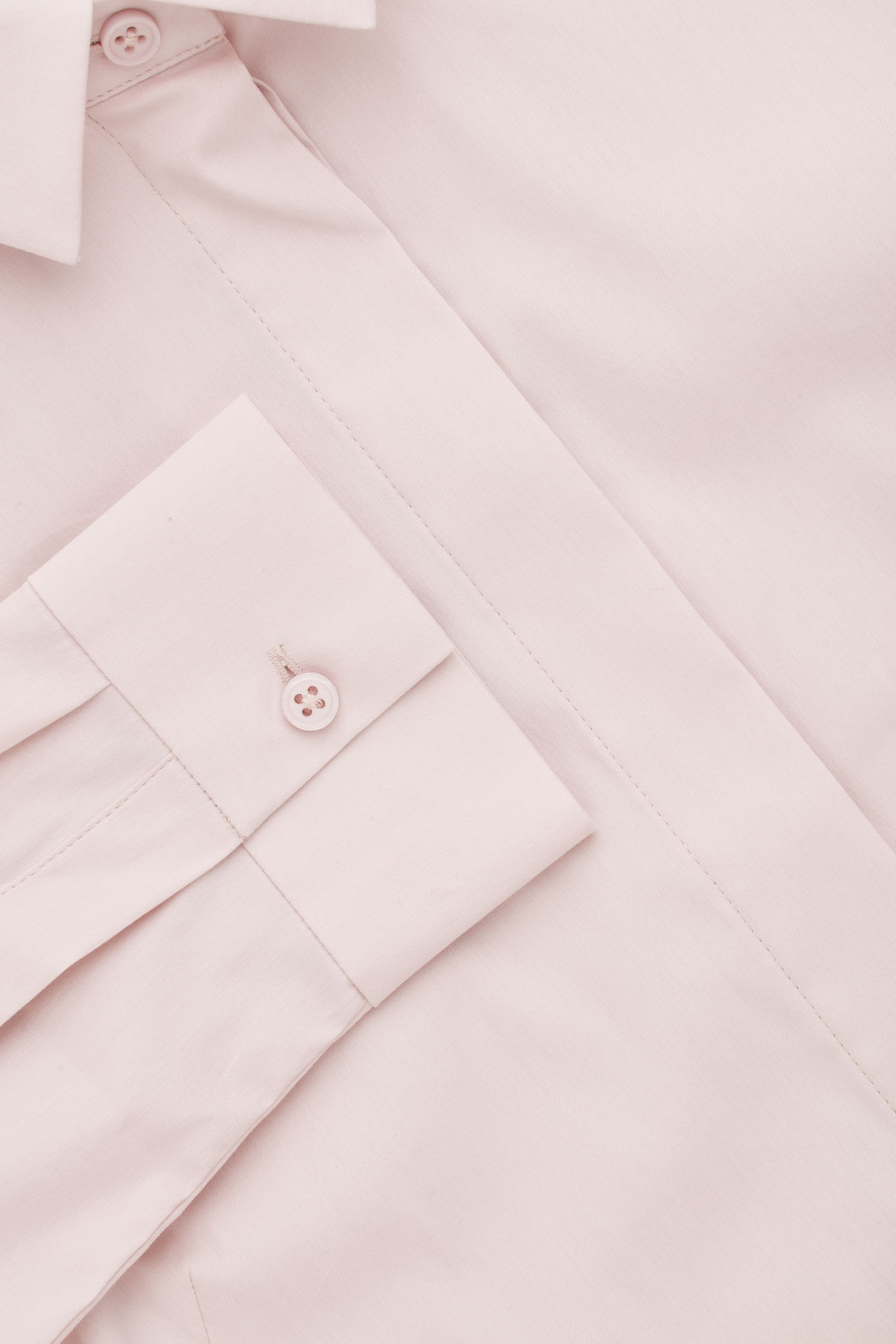 Side image of Cos slim-fit shirt  in pink