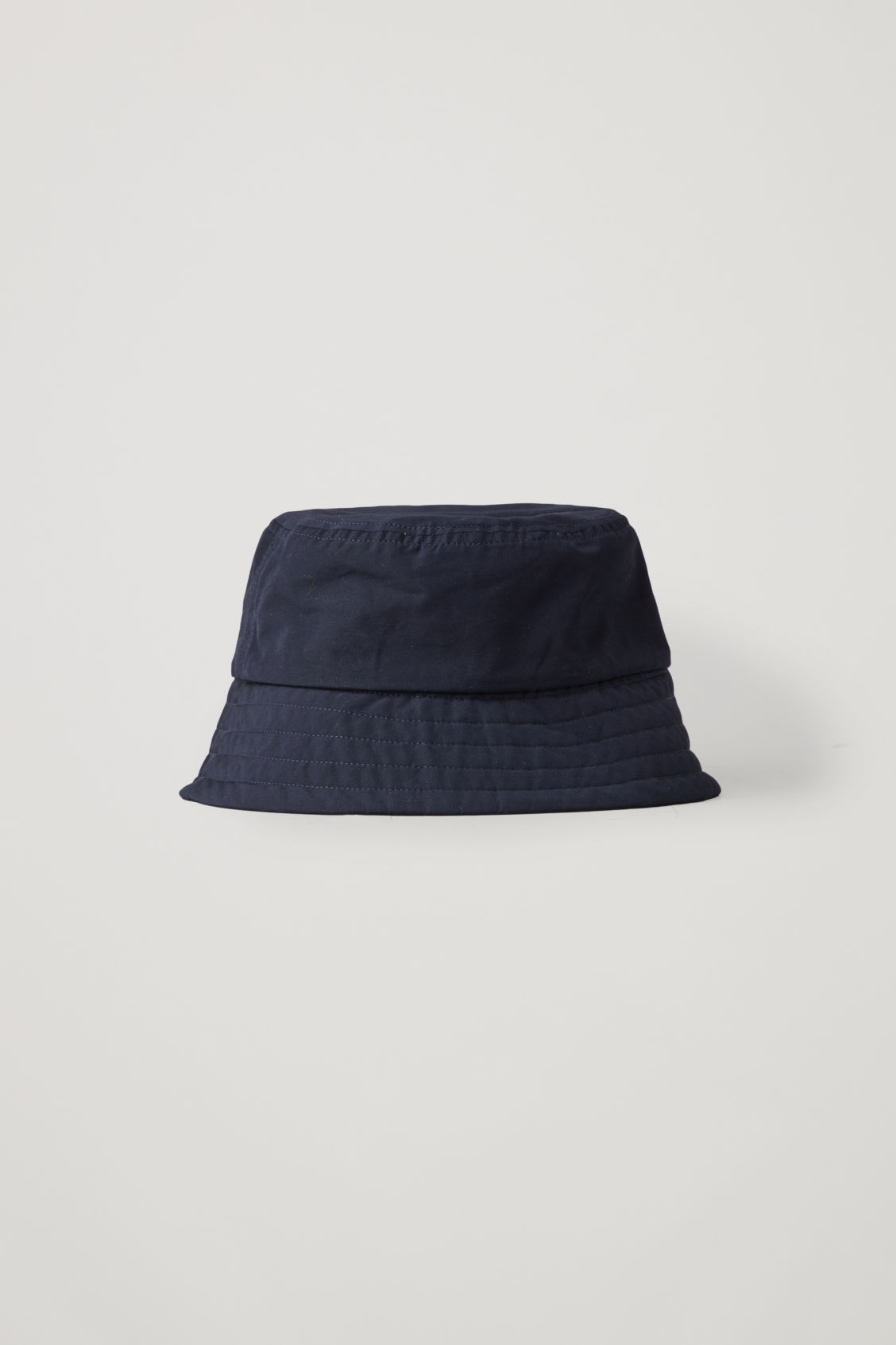 Front image of Cos bucket hat in blue