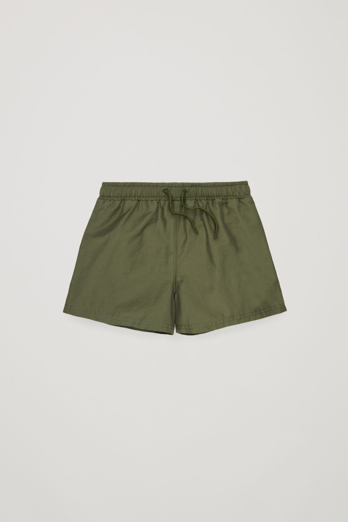 Side image of Cos swim shorts  in green