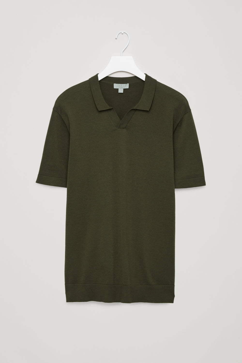 COTTON-KNIT POLO SHIRT
