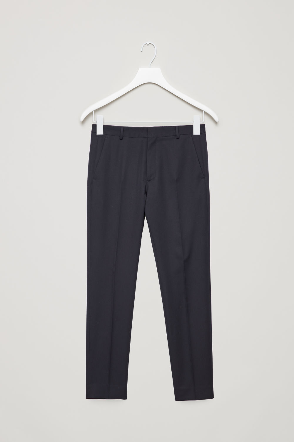 SKINNY-FIT TAILORED TROUSERS