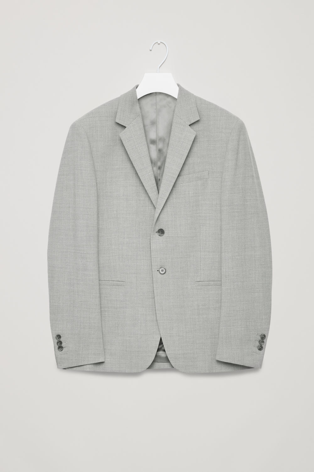 HIGHER-BREAK WOOL BLAZER