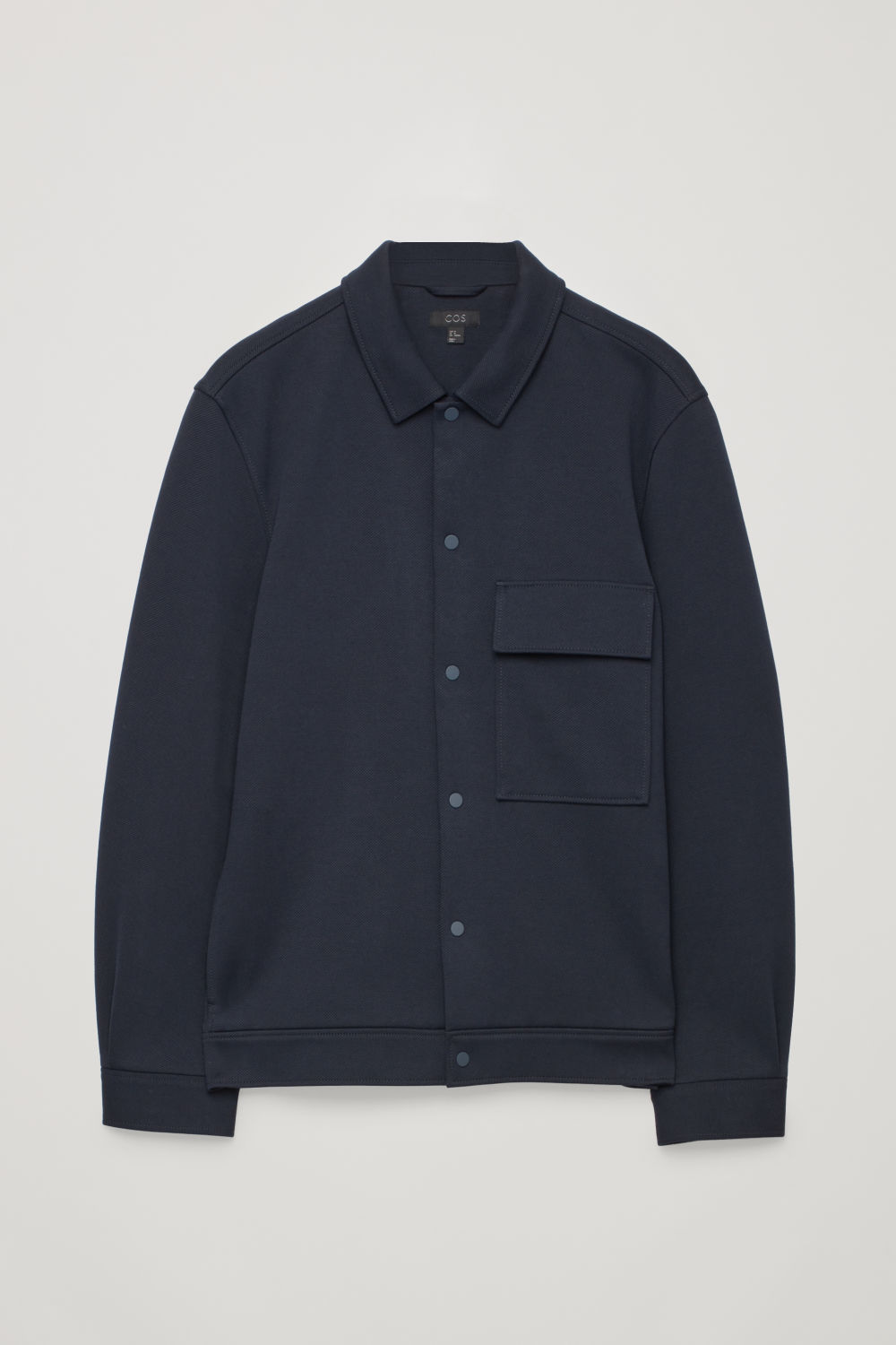COTTON-TWILL SHIRT JACKET