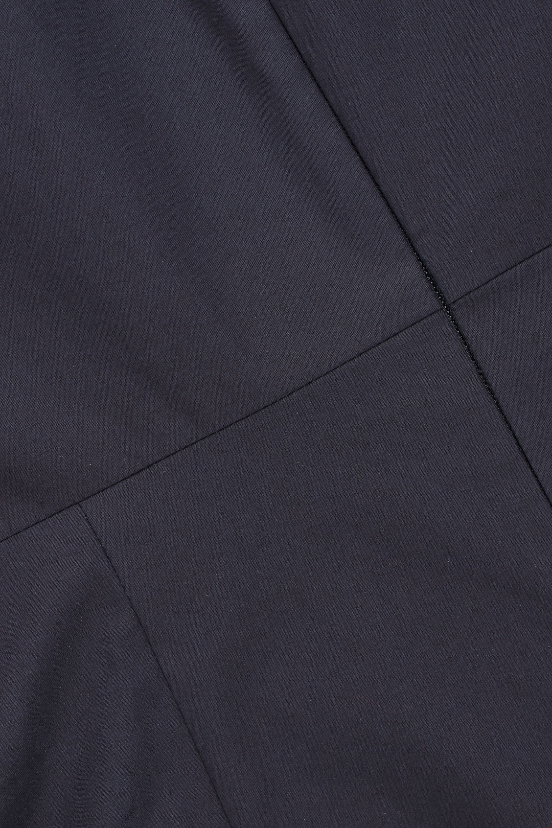 Side image of Cos wide-leg jumpsuit with v-neck in blue