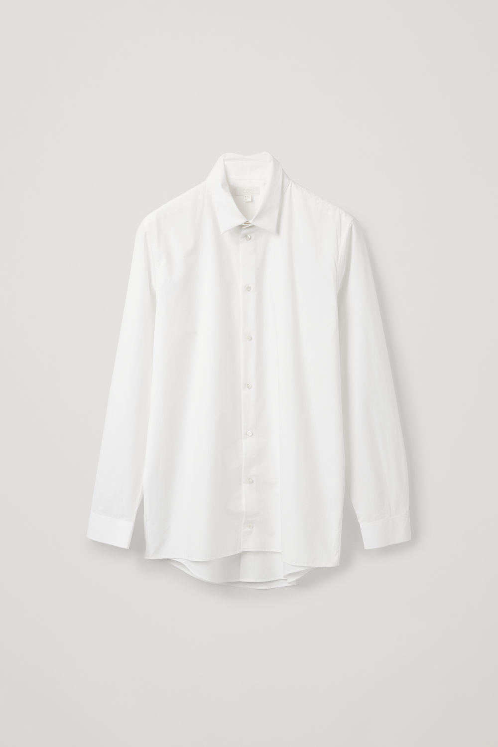 DOUBLE LAYER COTTON SHIRT