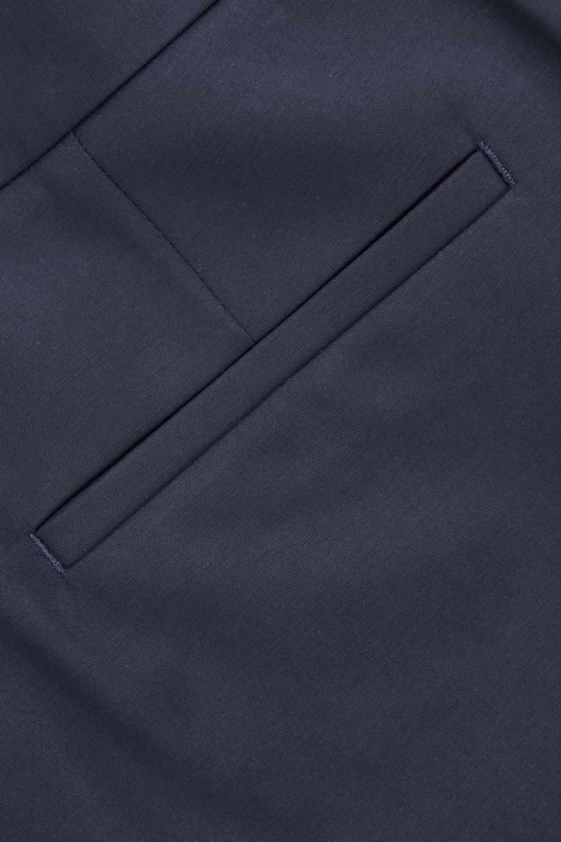 Side image of Cos skinny stretch-cotton trousers in blue