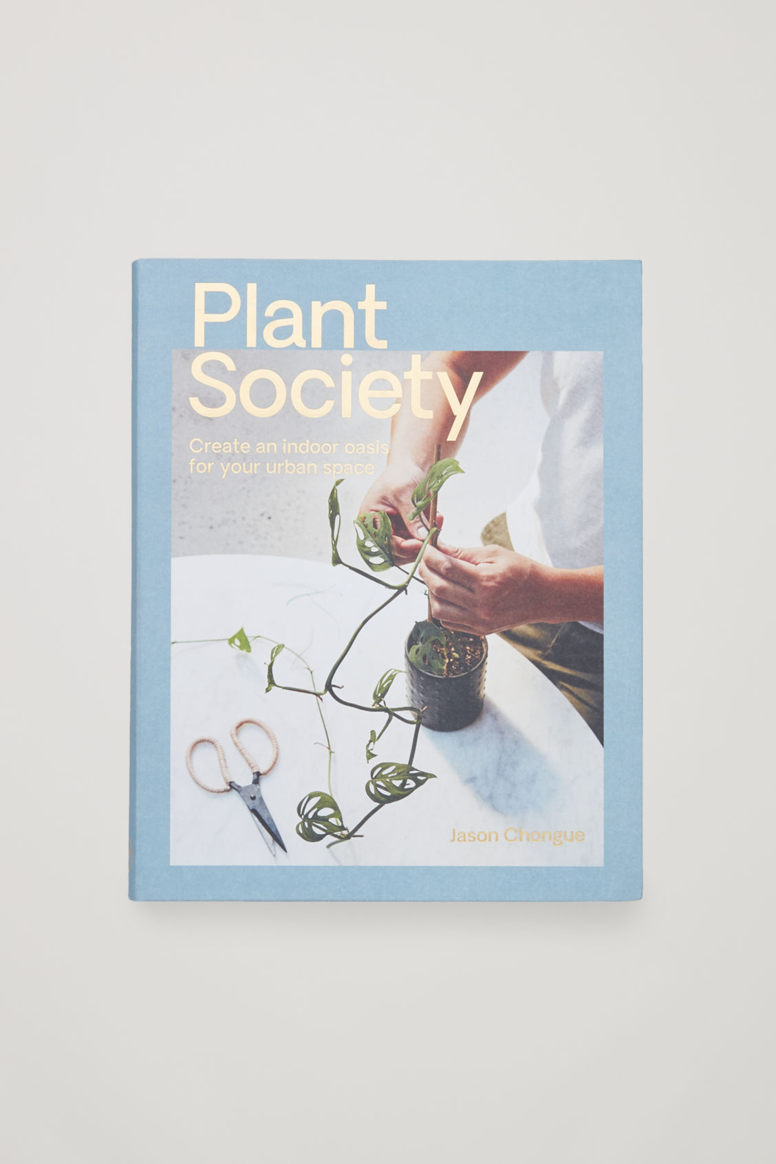 Front image of Cos plant society by jason chongue  in white